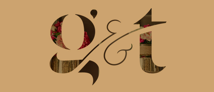 Large typography image for G&T