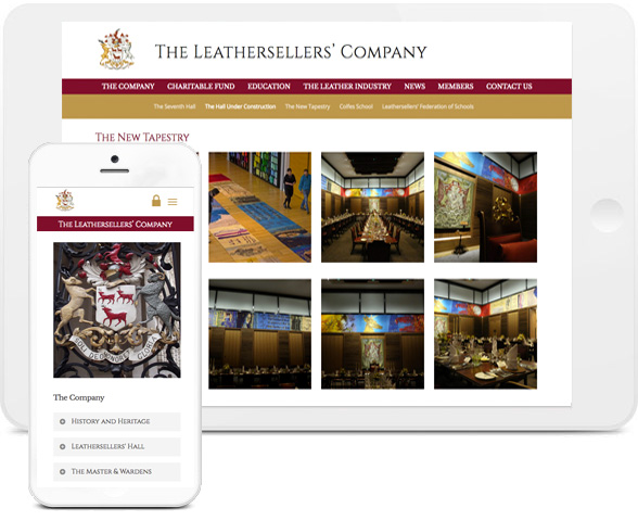 leathersellers web design