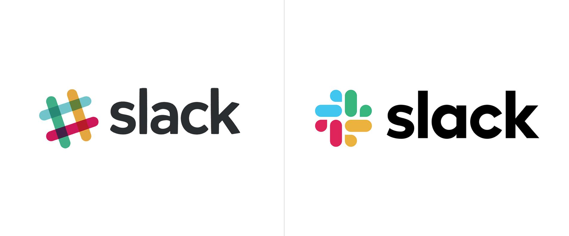 Slack has re-designed their logo