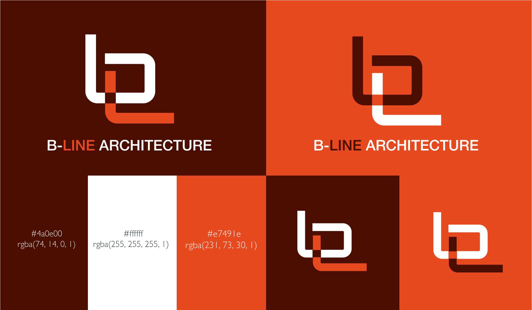 B-Line brand identity