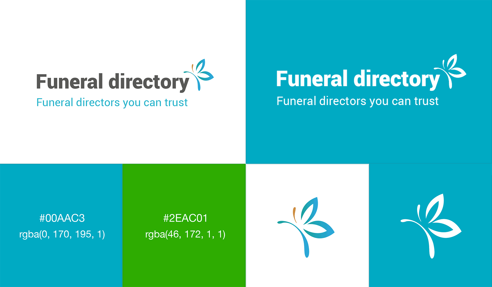 funeral directory corporate identity