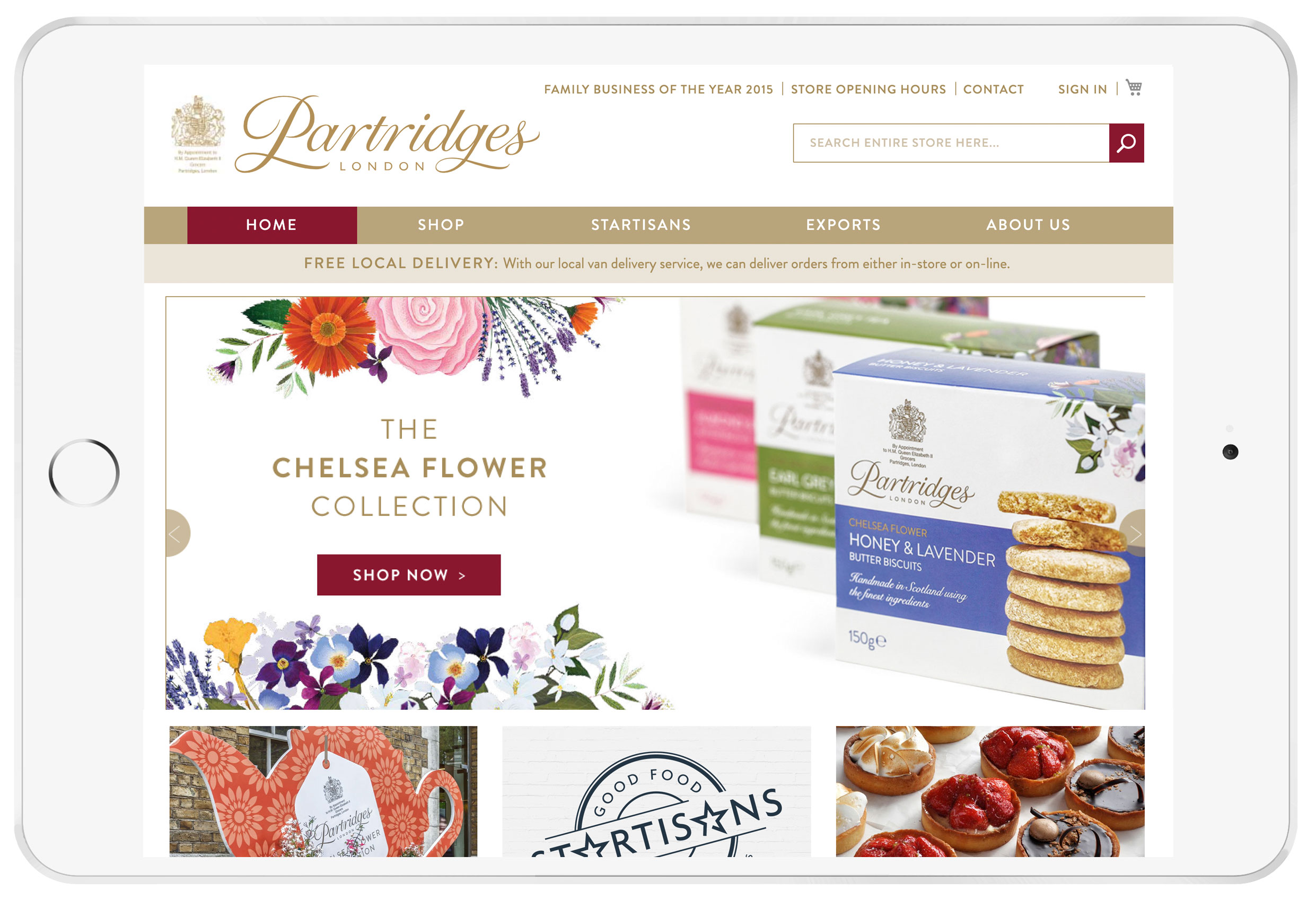 Partridges Web Design