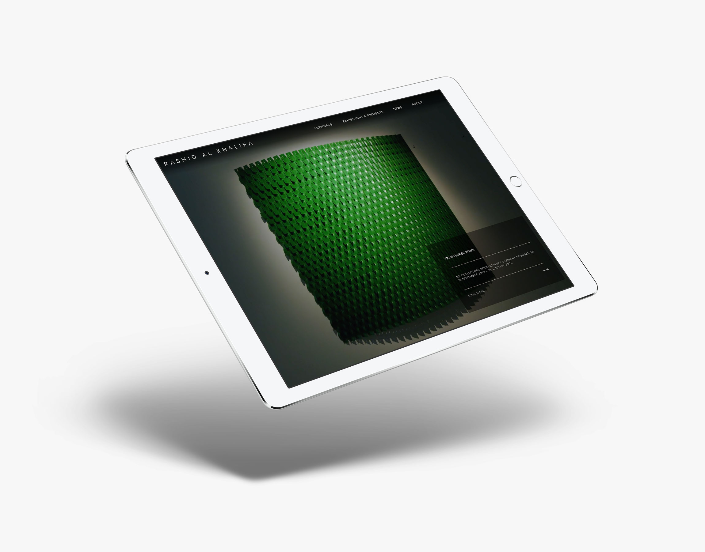 web design image for Rashid al Khalifa