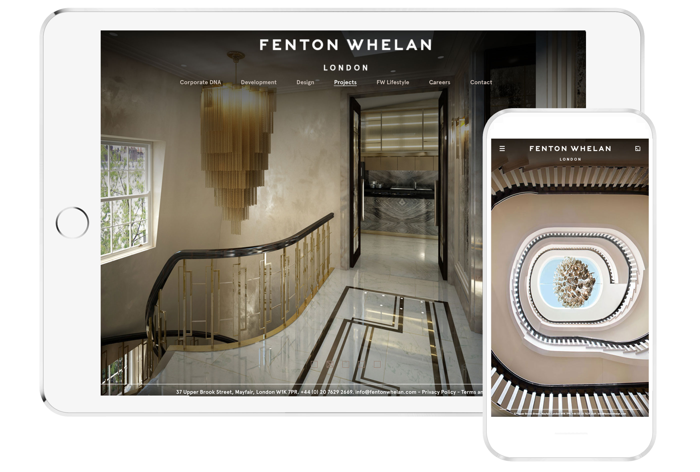 Fenton Whelan Web Design