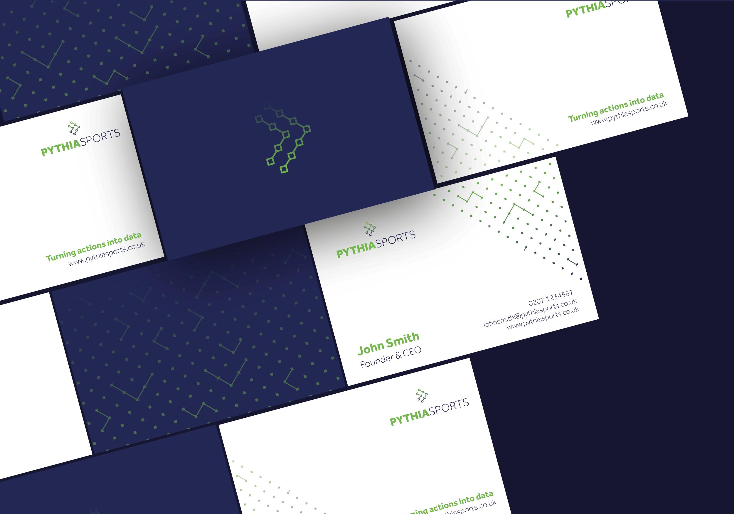 pythiasports brand identity design