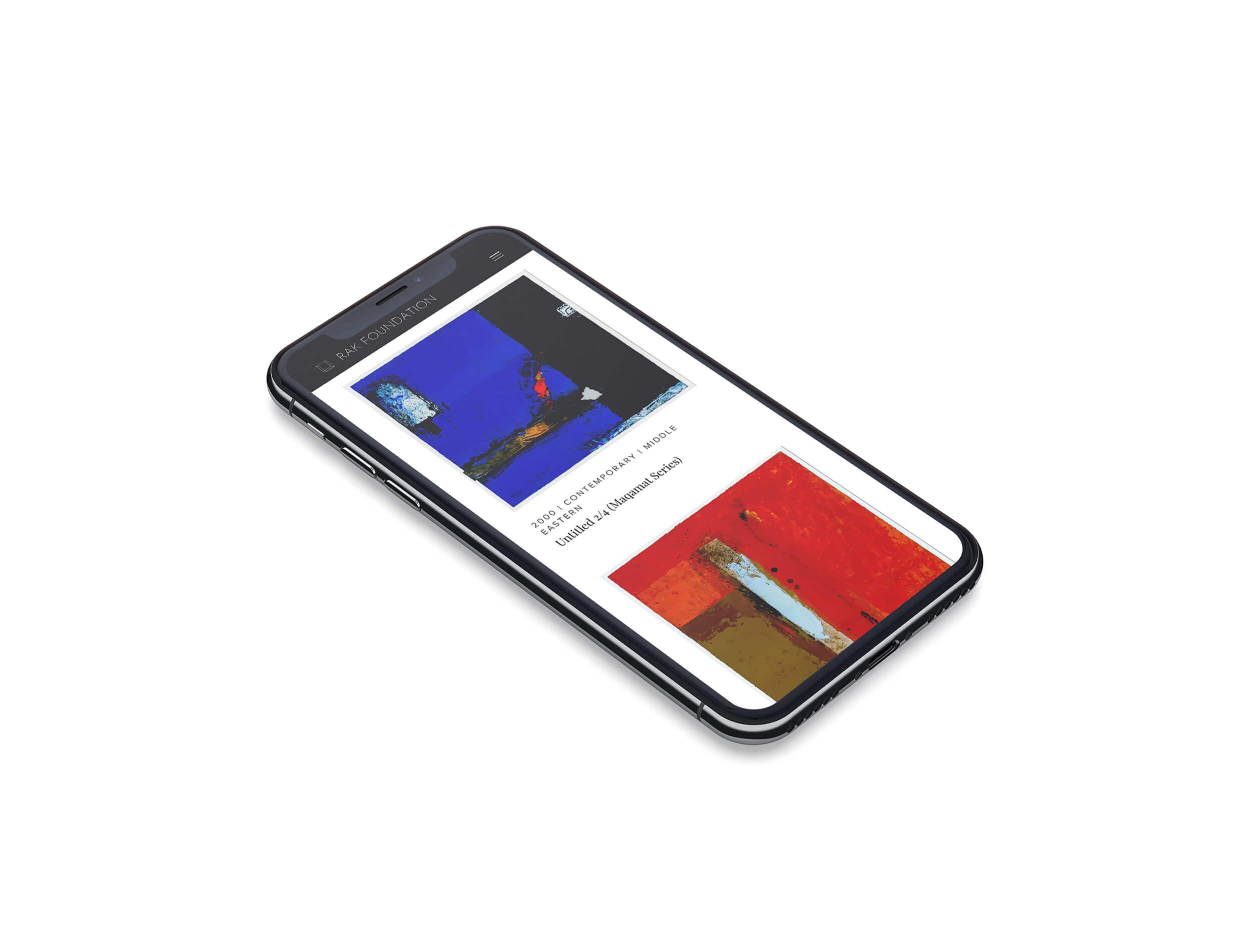 rak foundation web design mobile
