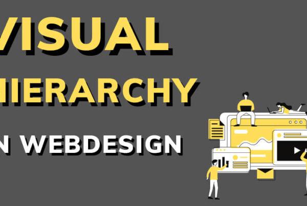 visual hierarchy in web design
